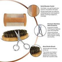 Beard Kit Beard Care & Grooming Kit for Men Gifts, Natural Organic Beard Oil, Be image 3
