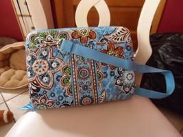 "Vera Bradley 12"" mini Laptop  Hard Case w/Shoulder Strap in Bali Blue NWT - $38.00"