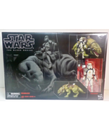 Star Wars The Black Series Dewback with Sandtrooper 6 inch figure and ve... - $44.95