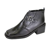 PEERAGE Zuri Women's Wide Width Leather Ankle Boots - $39.95
