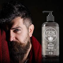Best Deal Beard Wash Shampoo w/Argan & Jojoba Oils - Softens & Strengthens - Nat image 2