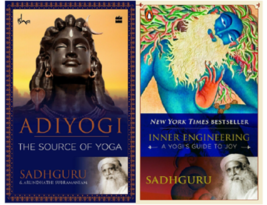 Inner Engineering & Adiyogi: Source Of Yoga By Sadhguru (2 Paperback Boo... - $16.50