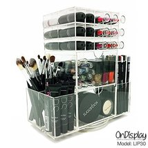 OnDisplay  Rotating Acrylic Cosmetic/Makeup Organizer, Clear - $58.62