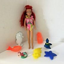 "Vintage 1990's Retro Original Little Mermaid Ariel Doll 9.5"" Tyco Disney - $18.49"