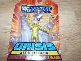 DC Universe Crisis Series 1 Alex Luthor Action Figure #33 New - $12.00