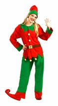 Simply Elf Santa's Helper Adult Unisex Christmas Holiday Costume Standard Size - $29.99