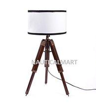 Nauticalmart Designer Antique Finish Tripod Table Lamp - $155.82