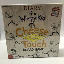 Diary Of A Wimpy Kid Cheese Touch Board Game Factory Sealed Rare 2010 - $24.74