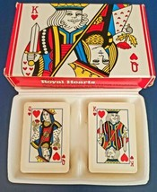 Avon Royal Hearts (Playing Cards) Hostess Soaps- Set of 2 Soaps - 1978 - $4.95