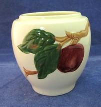 American Made Franciscan Pottery Apple Marmalade Jar Great Shape No Lid SHP - $49.49