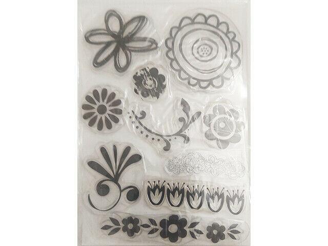 Florals Clear Stamp Set