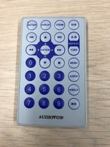 AUDIOVOX 1362300 DVD PLAYER REMOTE CONTROL TESTED AND CLEANED              (P8)