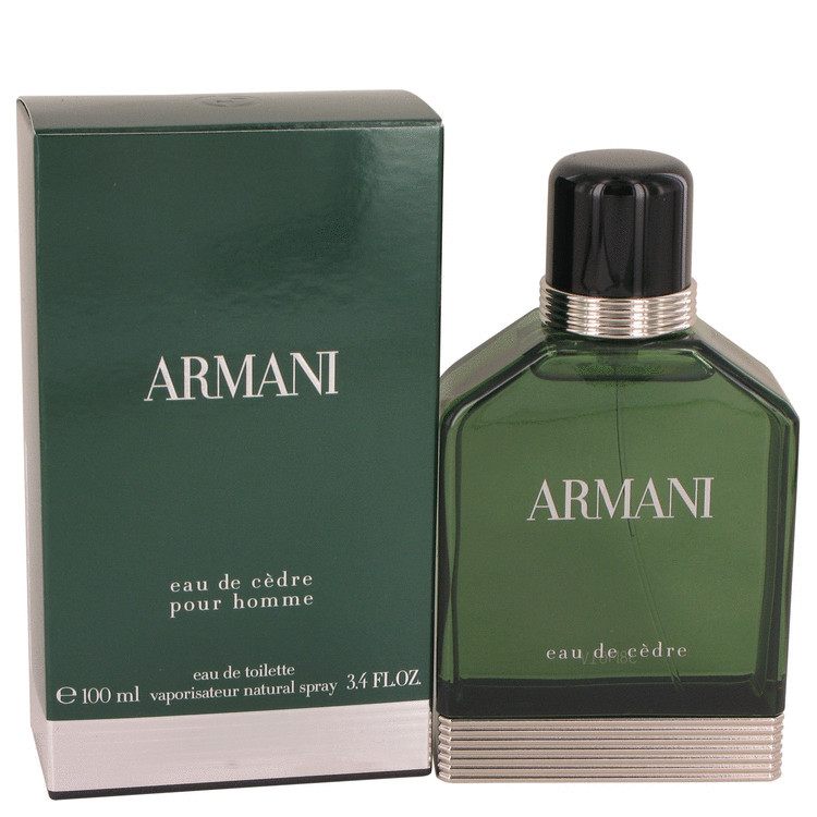 Giorgio armani eau de cedre 3.4 oz cologne