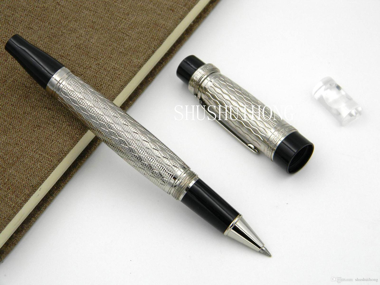 metal office Stainless steel Writer Balzac Business Writing Supplies Stripe wave