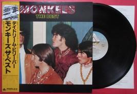 "Monkees THE BEST JAPAN VINYL ALBUM LP 12"" RECORD with OBI 20RS-12 - $7.98"