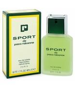Sport De Paco Rabanne 1.7 oz / 50 ML Eau de Toilette Spray pour Hommes - $130.55