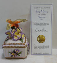 Heritage House Sing A Song Music Box Series Yesterday - $17.99