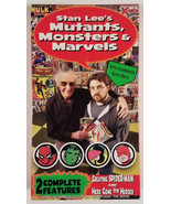 Stan Lee's Mutants Monsters and Marvels Box Set VHS New Factory Sealed  - $18.00