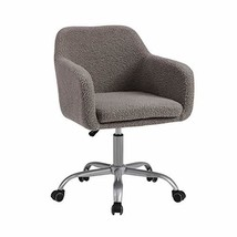 Linon Grey Upholstered Adjustable Brooklyn Office Chair - $200.94