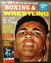 BOXING & WRESTLING magazine July 1964 Cassius Clay cover - $9.89