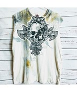 Harley Davidson Motorcycle T Shirt Skull Greely CO SzL - $25.00