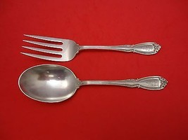 "Wellington by Durgin Sterling Silver Vegetable Serving Set 8 5/8"" 2pc - $247.10"