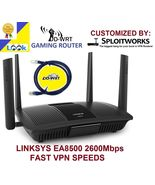 Linksys EA8500 Flashed VPN Router w/ DDWRT OpenWRT CovertRouter ANTI-HACKER - $229.00