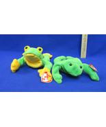 TY Beanie Babies Plush Original Stuffed Animal 1993 Legs 1997 Smoochy Lo... - $12.86