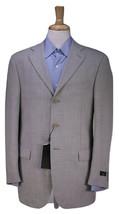 NWT New * PAL ZILERI * Solid Light Gray 3-Btn Wool Blazer Jacket 38R - $66.50