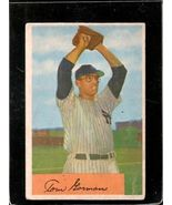 Vintage 1954 BOWMAN #17 TOM GORMAN VG  - £4.44 GBP