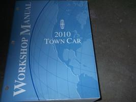 2010 Lincoln Town Car Service Repair Shop Manual Oem Factory Book 10 Huge - $37.62