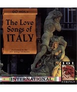 The Love Songs Of Italy by 101 Strings Orchestra Cd - $10.99