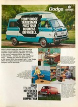 1968 Dodge Tradesman 108 and 90 Vans Print Ad Custom Interiors Business Leisure - $10.89