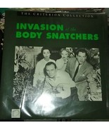 Invasion Of The Body Snatchers criterion collection laserdisc - $29.99