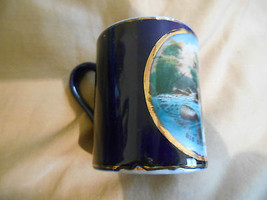 Old Vintage or Antique Souvenir Travel Small Cup Mug Big Stone City Sout... - $24.99