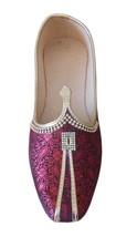 Men Shoes Indian Mojaries Sherwani Groom Loafers Khussa Flat Jutties US 7  - $39.99