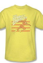 The Flash T-shirt The Scarlet Speedster Superhero DC Comics Retro DCO733 image 2