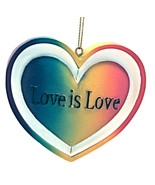 Valentine's Day Love is Love Ornament By Kurt Adler-Holiday! - $10.29