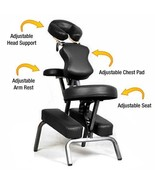 Ataraxia Deluxe Portable Folding Massage Chair w/Carry Case & Strap - Ch... - $93.71