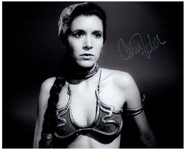 CARRIE FISHER  Authentic Original  SIGNED AUTOGRAPHED PHOTO w/ COA 1779 - $105.00