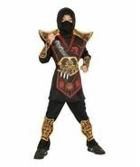 Rubie's Ninja Warriors Gold Red Kids Halloween Cosplay Costume Boys M (8... - £14.31 GBP