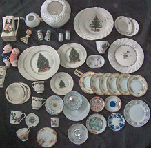 50 LOT MADE IN JAPAN PLATE DISHES CUP SAUCERS PITCHER SHAKERS FIGURES BO... - $272.60