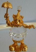 Swarovski Trimlite Crystal figurine Clown with Umbrella  - $84.65