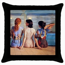 Throw pillow case cover pink floyd the wall dark side of the moon rock o... - $19.50