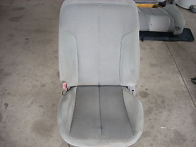 2005 NISSAN ALTIMA LEFT FRONT SEAT GRAY WITH PATTERN