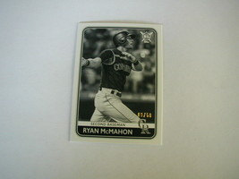 2020 Topps Big League Ryan Mc Mahon Card #38 Black And White Parallel 09/50 - $4.94