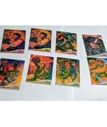 1995 Fleer Ultra Spider-Man Clear Chrome Chase Insert Cards - $16.34