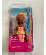 Barbie Dreamtopia Chelsea Mermaid Doll 6.5-inch with Coral-Colored Hair ... - $8.90
