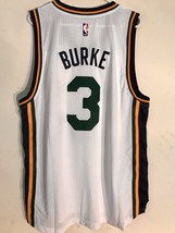 Adidas Swingman 2015-16 NBA Jersey Utah Jazz Trey Burke White sz XL - $19.79