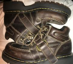 Dr. Martens Doc England Super Platform Buckle Air Wair Boots US 9 Brown ... - $285.00
